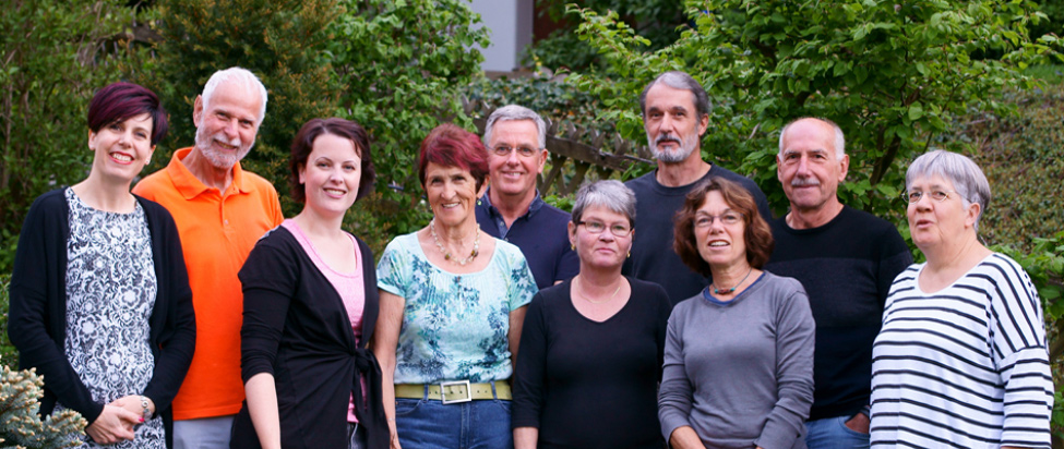 Teamfoto Arbeitsgruppe Dritte Welt